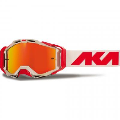 Masque cross AKA Magnetika alu/rouge/blanc