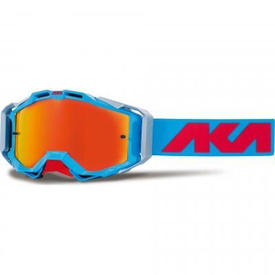 Masque cross AKA Magnetika bleu/alu/bleu