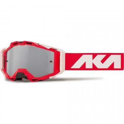 Masque cross AKA Magnetika rouge/blanc/rouge