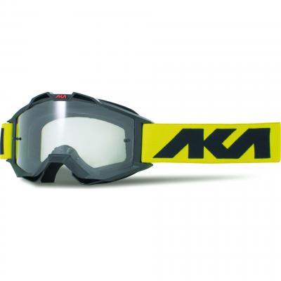 Masque cross AKA Vortika Sport noir/jaune