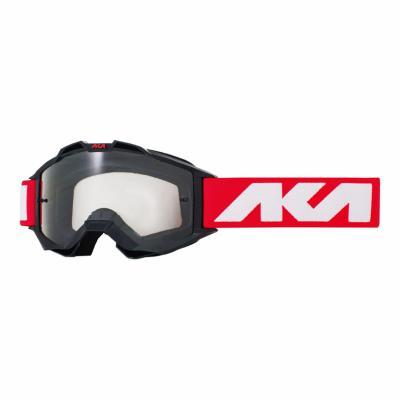 Masque cross AKA Vortika Sport noir/rouge