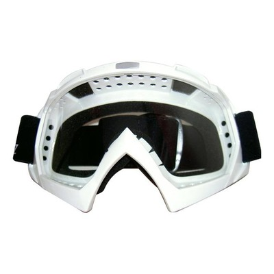 Masque cross GAZZ blanc