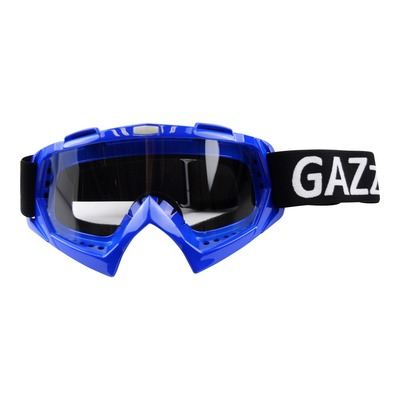 Masque cross GAZZ bleu