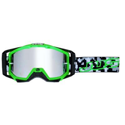 Masque cross Just1 Iris Hulk vert/noir