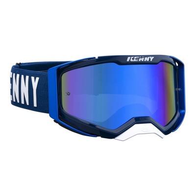 Masque cross Kenny Performance level 2 candy bleu écran iridium bleu