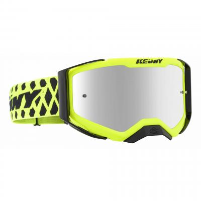 Masque cross Kenny Performance Level 2 jaune fluo