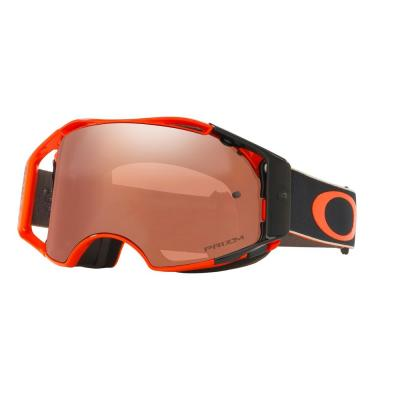 Masque cross Oakley Airbrake Fastline écran Prizm MX black iridium