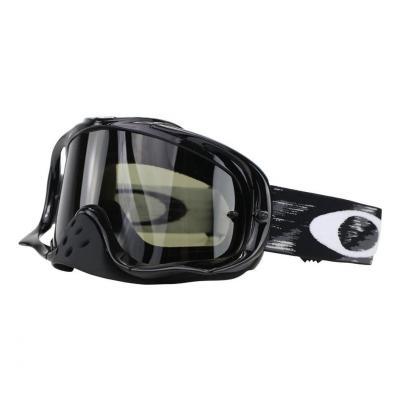 Masque cross Oakley Crowbar™MX Sand Jet noir Speed écran fumé foncé