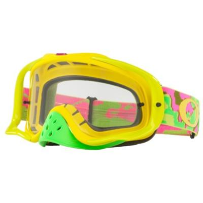 Masque cross Oakley Crowbar Thermo Camo écran transparent
