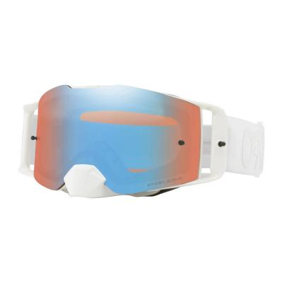 Masque cross Oakley Front Line Factory Pilot Whiteout écran Prizm sapphire