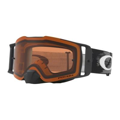 Masque cross Oakley Front Line Matte Black écran Prizm MX bronze