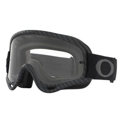 Masque cross Oakley O Frame MX Carbon Fiber mat écran transparent