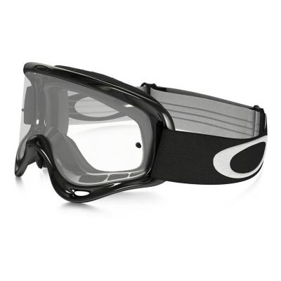 Masque cross Oakley O Frame MX Jet noir écran transparent