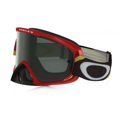 Masque cross Oakley O2 Héritage racer rouge