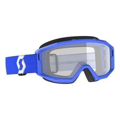 Masque cross Scott Primal bleu – écran clair