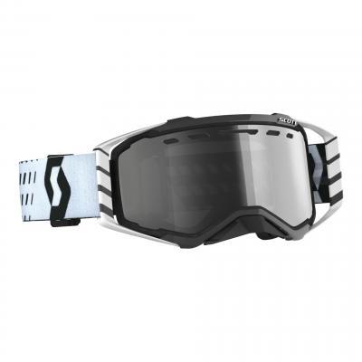 Masque cross Scott Prospect Enduro noir/gris – écran Light Sensitive gris argent