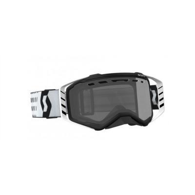 Masque cross Scott Prospect noir/blanc – écran Light Sensitive