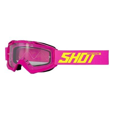 Masque cross Shot Assault rose