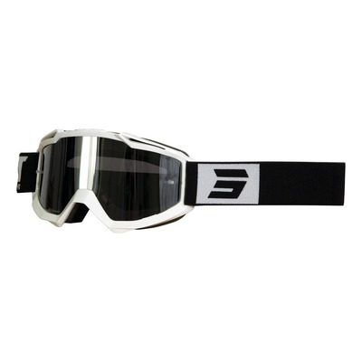 Masque cross Shot Iris Fashion brillant blanc/noir