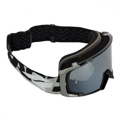 Masque cross Swaps noir/gris écran iridium argent + clair