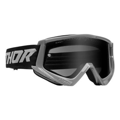 Masque cross Thor Combat Sand gris- écran transparent
