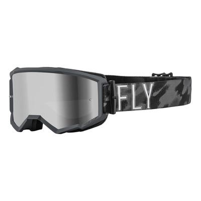 Masque Fly Racing Zone S.E. Tactic camouflage- écran iridium argent/fumé