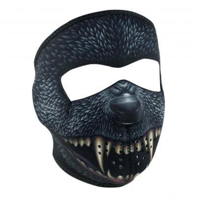 Masque Zan Headgear Silver bullet