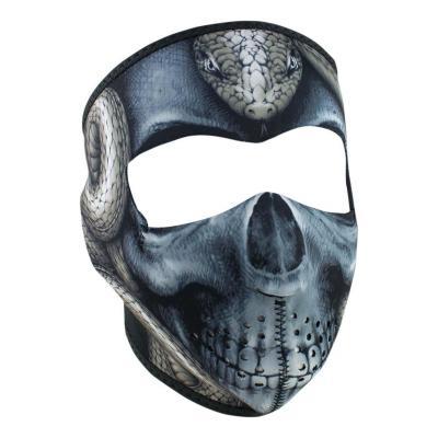 Masque Zan Headgear Tête de mort serpent