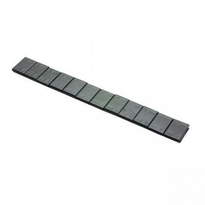 Masse d'équilibrage Adhésive 12 x 5g 3.8mm noir
