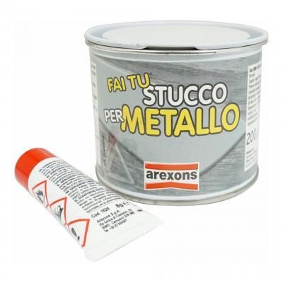 Mastic carrosserie pour alu / métal Arexons avec durcisseur 200g