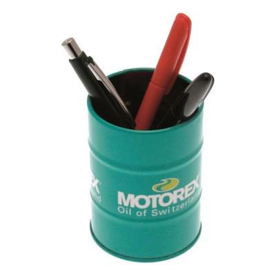 Mini fût décoratif porte-stylo Motorex