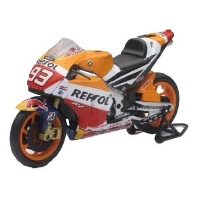 Moto miniature New Ray Honda Repsol RC212V 2015 Marc Marquez réplica 1/12°