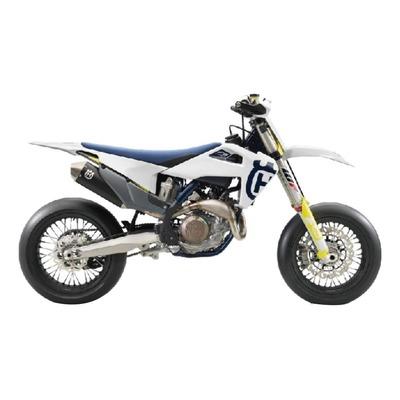 Moto miniature New Ray Husqvarna 450 FS 2019 Supermotard 1/12°