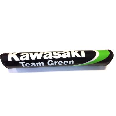 Mousse de guidon Kawasaki Team Green vert/noir