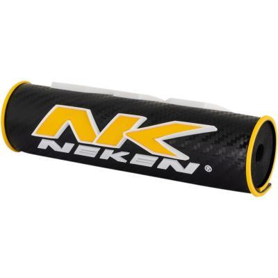 Mousse de guidon Neken 3D jaune/noir (21cm)