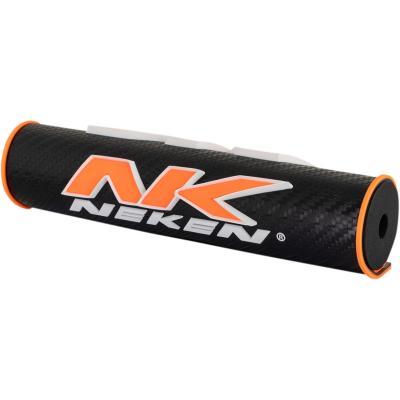 Mousse de guidon Neken 3D orange/noir (24,5cm)