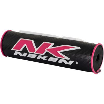 Mousse de guidon Neken 3D rose/noir (21cm)
