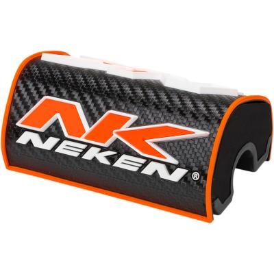 Mousse de guidon sans barre Neken 3D orange/noir