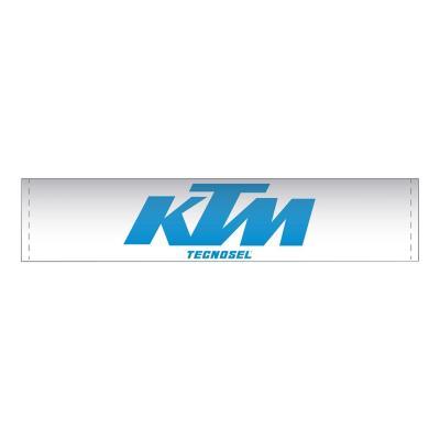 Mousse de guidon Tecnosel KTM bleu/blanc