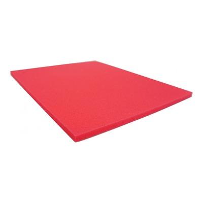 Mousse filtre à air rouge Artein à découper 280x330x10mm