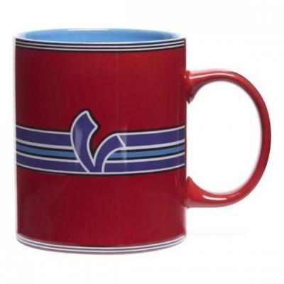 Mug Vespa V-Stripes rouge