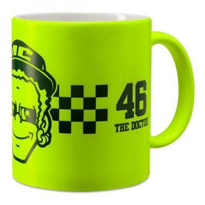 Mug VR46 tasse Dottorone jaune