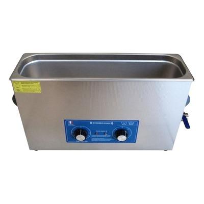 Nettoyeur à ultrasons bac 10 litres rectangulaire Brazoline
