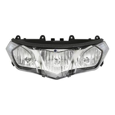 Optique de phare 2R000161 pour Aprilia 850 SRV 12- / 1000 RSV-4 09-15 / 1200 Caponord 15-