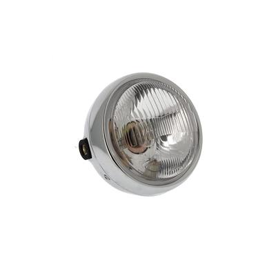 Optique de phare chromé Ø155mm pour Mash 50 fifty / 125 seventy five / cafe racer