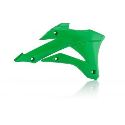 Ouïes de radiateur Acerbis Kawasaki 85 KX 14-21 vert