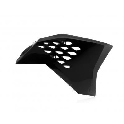 Ouïes de radiateur Acerbis KTM 125 SX 07-10 noir (paire)