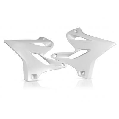 Ouïes de radiateur Acerbis Yamaha 125/250 WR 15-17 blanc (paire)