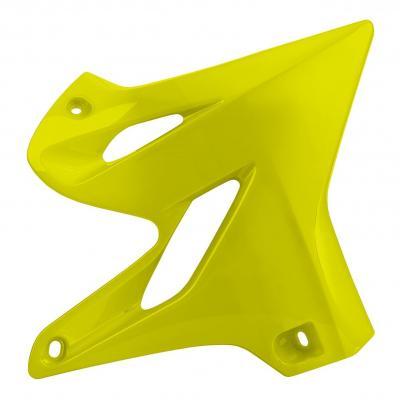 Ouïes de radiateur Polisport Yamaha 125 YZ 15-20 jaune fluo