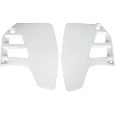 Ouïes de radiateur UFO Suzuki 250 RM 89-92 blanc